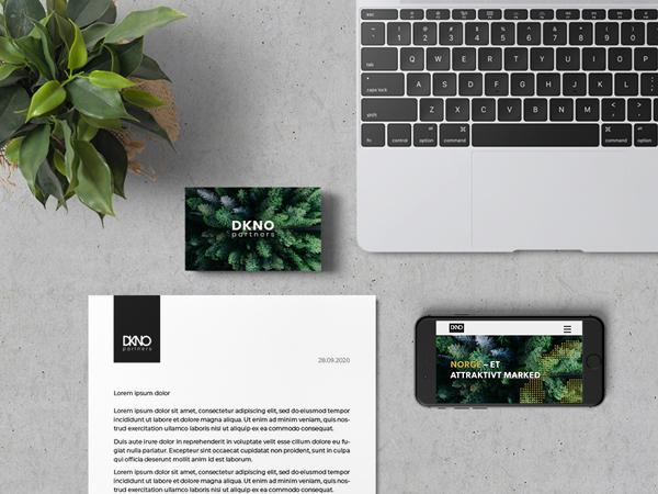 webdesign og visuel identitet